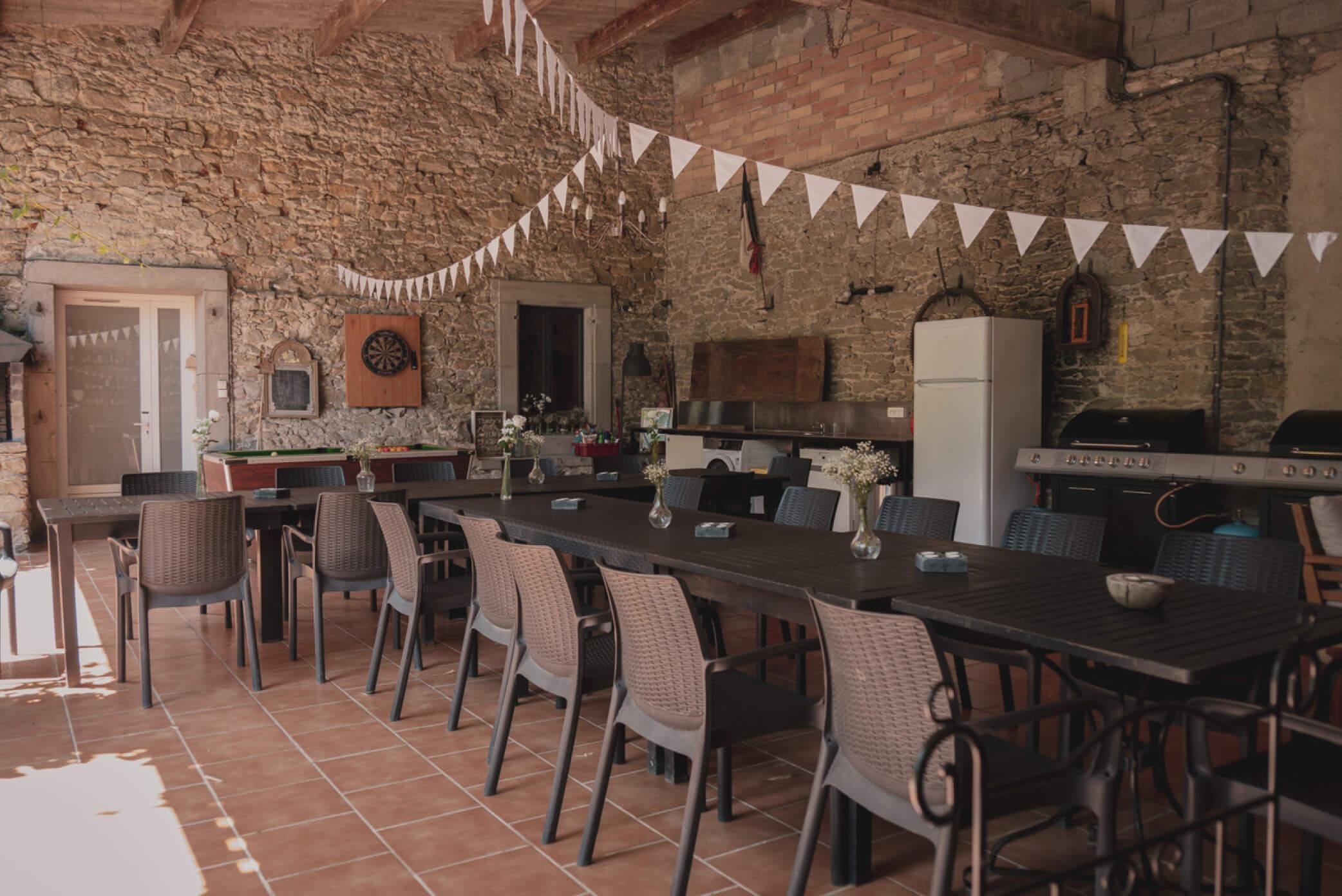 Barn Kitchen Living spaces La Maison