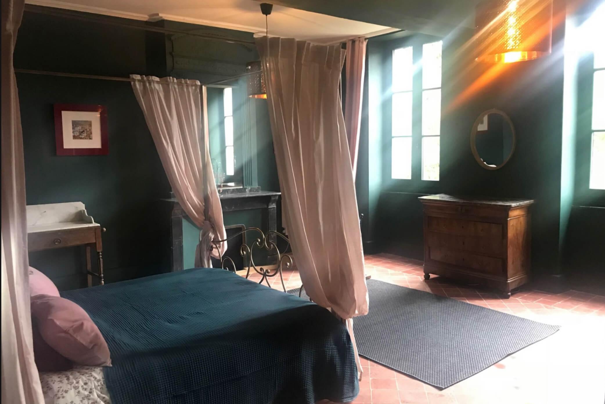 Bedrooms Living spaces La Maison