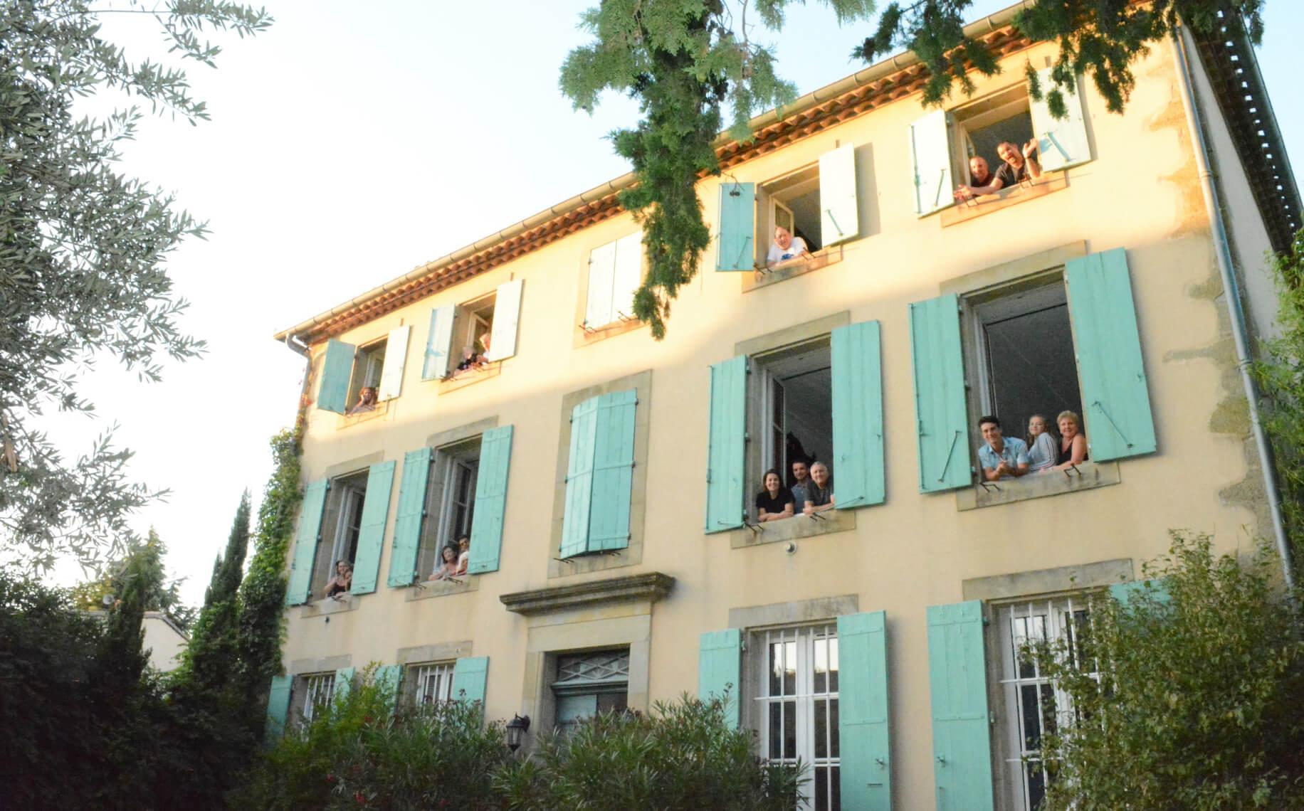 People shot La Maison